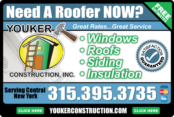 Exclusive Ad: Youker Construction Inc. Minoa 3153953735 Logo