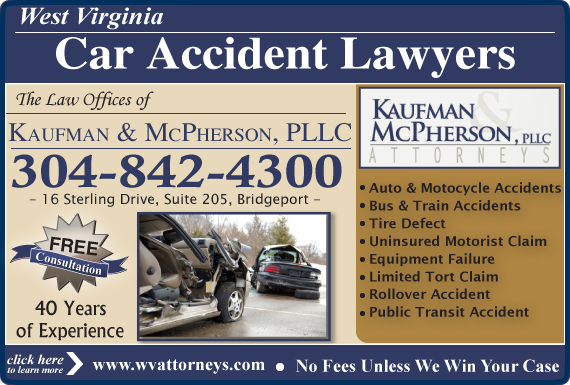 Exclusive Ad: Kaufman & McPherson, PLLC Bridgeport 3048424300 Logo