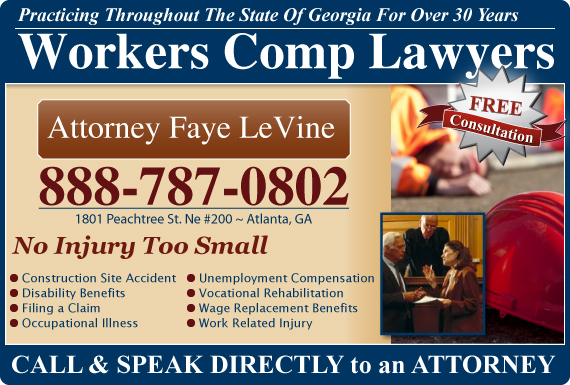 Exclusive Ad: Attorney Faye LeVine Atlanta  Logo