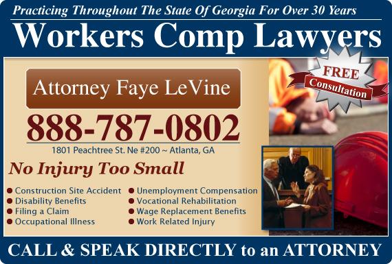 Exclusive Ad: Attorney Faye LeVine Atlanta  Logo