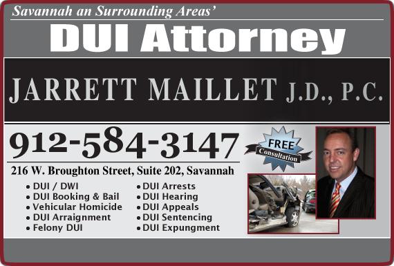 Exclusive Ad: Jarrett Maillet JD., PC Savannah 9124035710 Logo