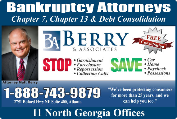 Exclusive Ad: Berry & Associates Atlanta 8883208990 Logo