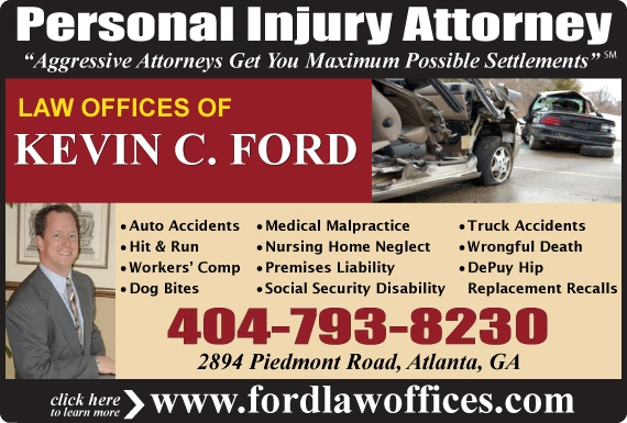 Exclusive Ad: Law Offices of Kevin C. Ford Atlanta 4047938230 Logo