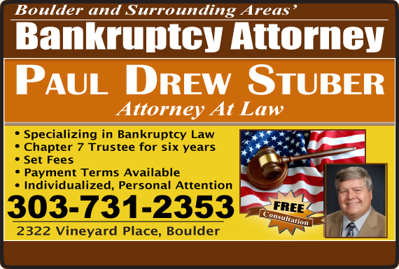 Exclusive Ad: Stuber Paul Drew-Attorney At Law Boulder 3039000190 Logo