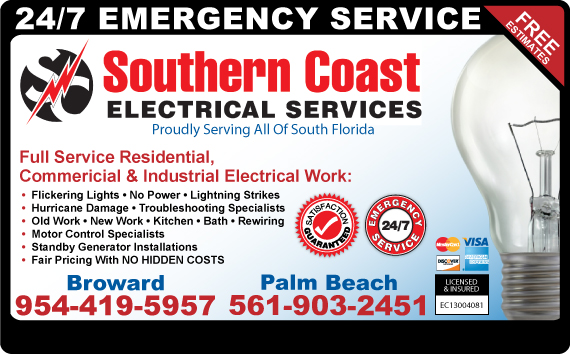 Exclusive Ad: Electric Boca Raton 5614753644 Logo