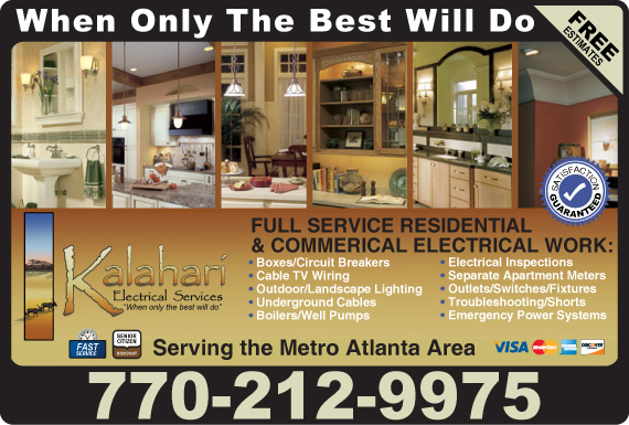 Exclusive Ad: Kalahari Electrical Lawrenceville 6786652309 Logo