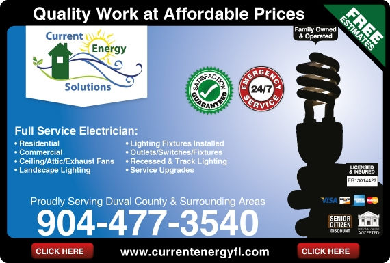 Exclusive Ad: Current Energy Solutions Inc Middleburg 9044773540 Logo