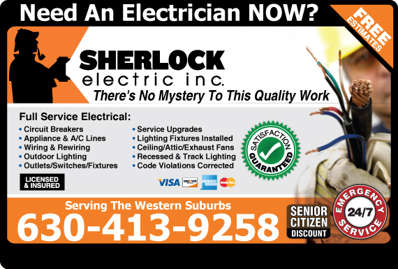 Exclusive Ad: Sherlock Electric  6302831260 Logo