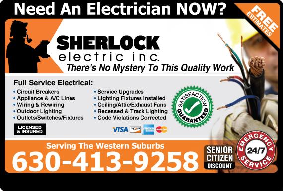 Exclusive Ad: Sherlock Electric  6302831260 Logo