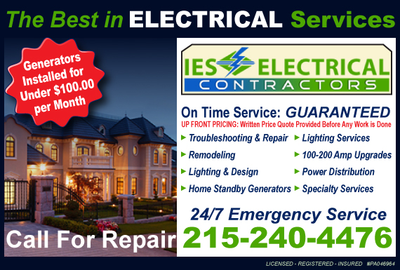 Exclusive Ad: IES Electrical Spring House 2159875514 Logo