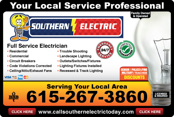 Exclusive Ad: Southern Electric   6152673860 Logo