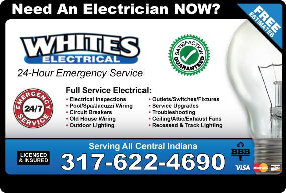 Exclusive Ad: White's Electrical  3178914960 Logo