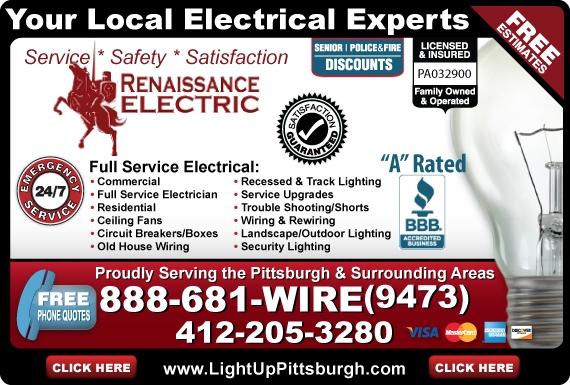 Exclusive Ad: Renaissance Electric  4122053280 Logo