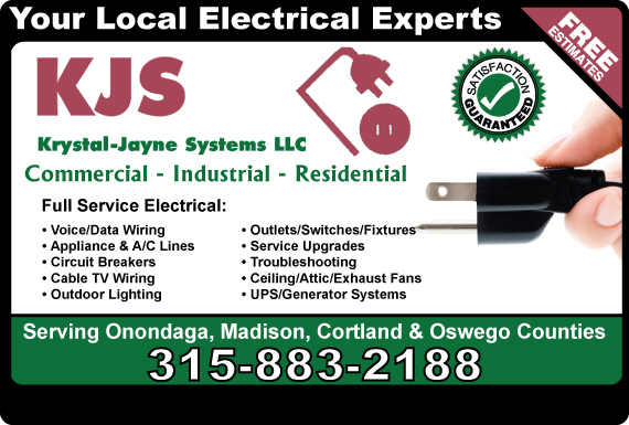 Exclusive Ad: Krystal Jayne Systems, LLC Jamesville 3152430356 Logo
