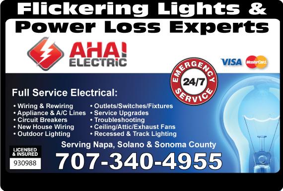 Exclusive Ad: (Napa, Solano & Sonoma) - 707  7073872960 Logo