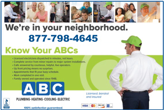 Exclusive Ad: ABC - ELECTRIC  8777496060 Logo