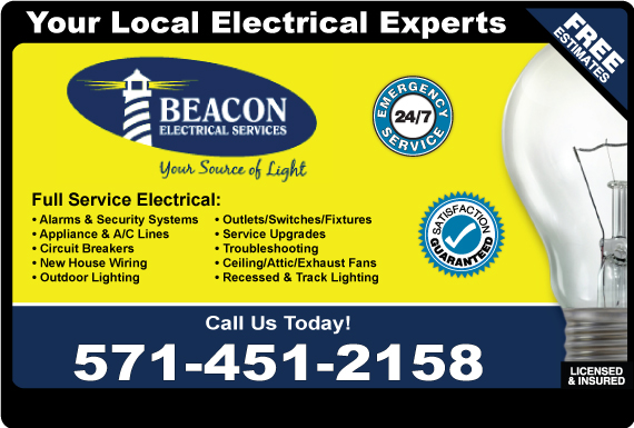 Exclusive Ad: Beacon Electrical Services Manassas 5712923894 Logo