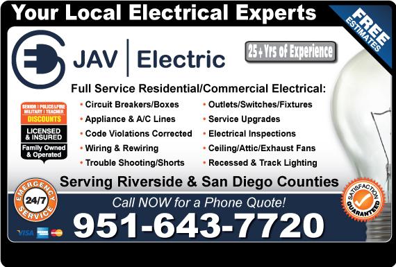 Exclusive Ad: JAV Electric  9513566530 Logo