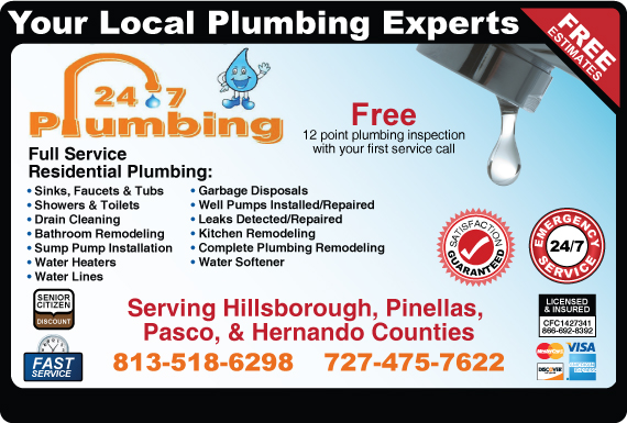 Exclusive Ad: 24-7 Plumbing   Logo