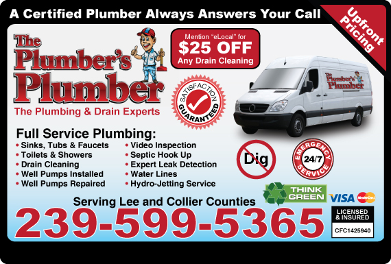 Exclusive Ad: The Plumber's Plumber, Inc.  2392148990 Logo