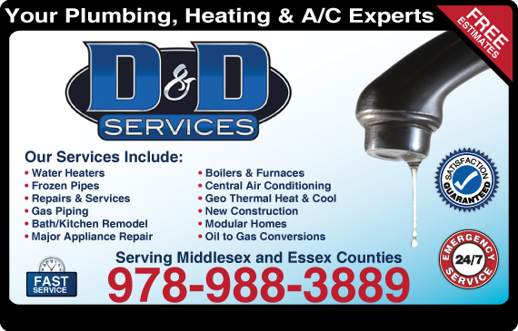 Exclusive Ad: D&D Services  9789883889 Logo