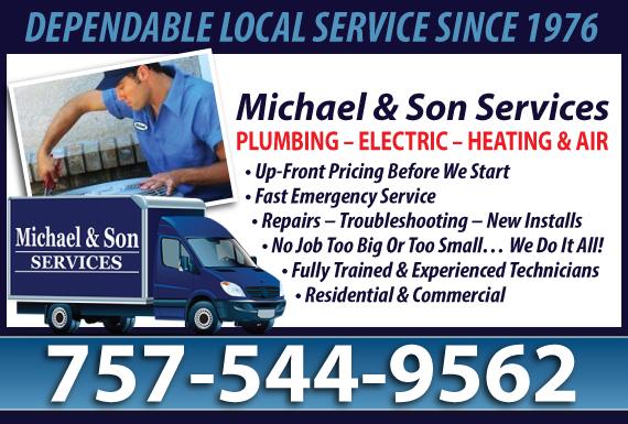 Exclusive Ad: Plumbing - Norfolk Chesapeake 8044778006 Logo