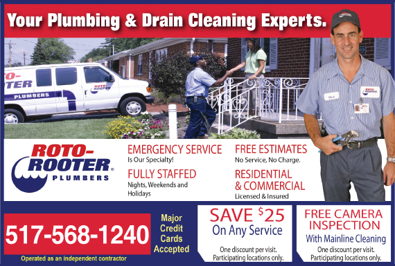 Exclusive Ad: 66691-Roto-Rooter Plumbing & Drain Cleaning  5178274830 Logo