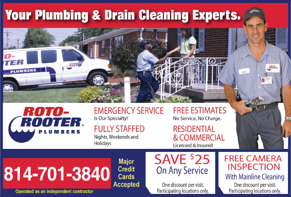 Exclusive Ad: 66722-Roto-Rooter Plumbing & Drain Cleaning   Logo