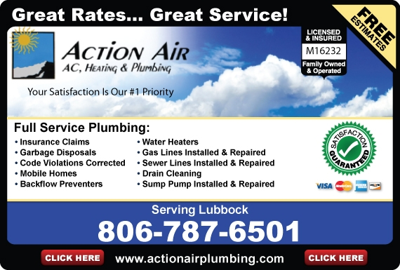 Exclusive Ad: Action Air  8067876501 Logo