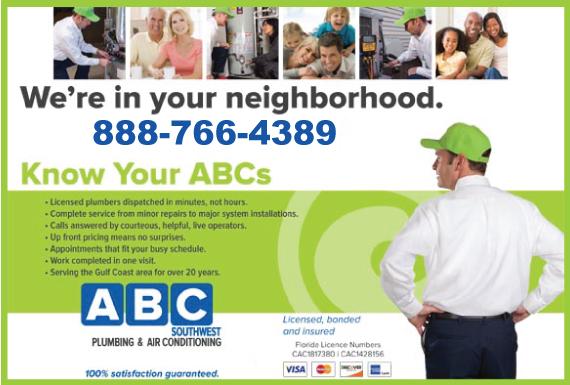 Exclusive Ad: ABC SouthWest Plumbing - Plumbing Englewood 8889038595 Logo