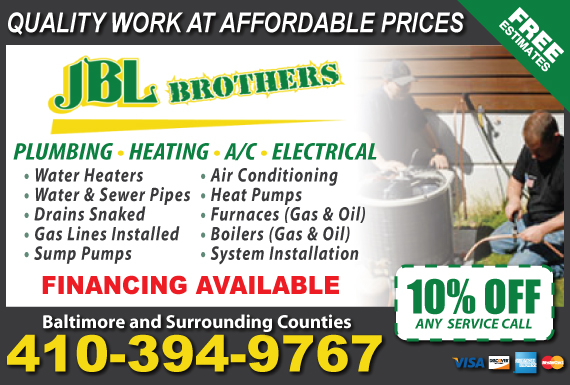 Exclusive Ad: JBL Brothers LLC  4108036550 Logo