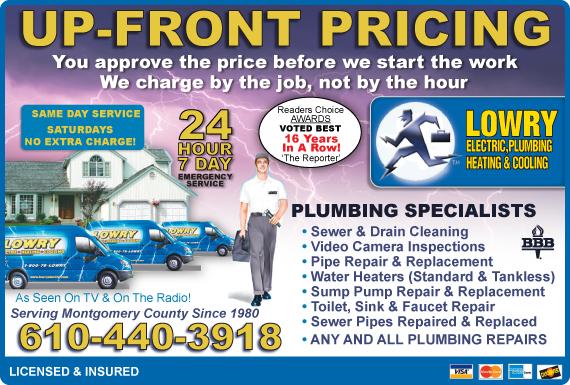 Exclusive Ad: Lowry - Montgo  6103651250 Logo