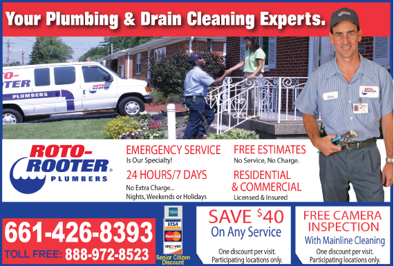Exclusive Ad: Roto-Rooter - Former RWI - 661  9516588541 Logo