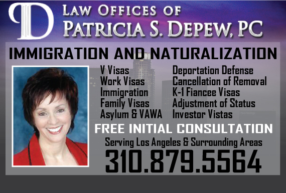 Exclusive Ad: Law Offices of Patricia S. Depew, PC Los Angeles 3109046535 Logo