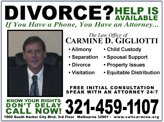 Exclusive Ad: The Law Office of Carmine D. Gigliotti Melbourne 3214591107 Logo