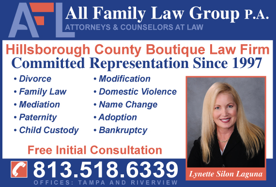 Exclusive Ad: All Family Law Group, P.A. Riverview 8139790000 Logo