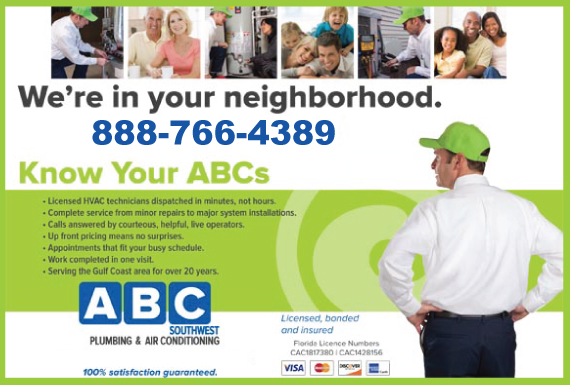 Exclusive Ad: ABC SouthWest Plumbing & Air Conditioning - HVAC Englewood 8889038595 Logo
