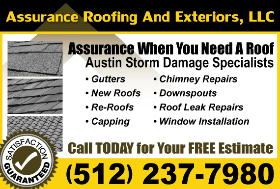 Exclusive Ad: Assurance Roofing And Exteriors, LLC Austin 5122560960 Logo