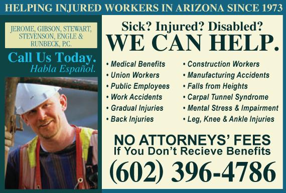 Exclusive Ad: Jerome, Gibson, Stewart, Stevenson, Engle & Runbeck, P.C. Phoenix 6026356561 Logo