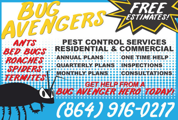 Exclusive Ad: Bug Avengers  Anderson 8642807450 Logo
