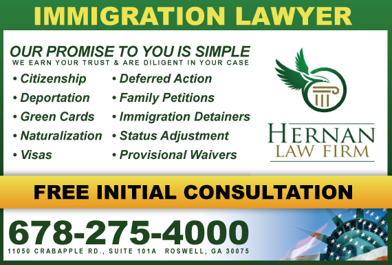 Exclusive Ad: Hernan Law Firm PC Roswell 6782754000 Logo