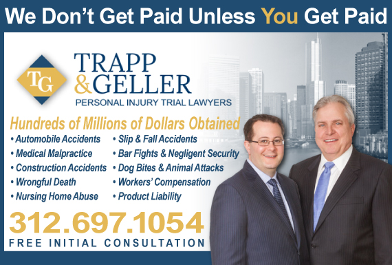 Exclusive Ad: Trapp & Geller Chicago 3125852090 Logo