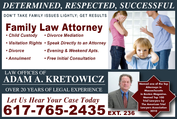 Exclusive Ad: Law Offices of Adam A. Kretowicz Wellesley Hills 6172850404 Logo