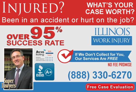 Exclusive Ad: Dworkin & Maciariello - Workers Comp Chicago 3123882723 Logo