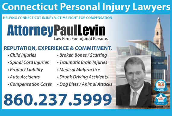 Exclusive Ad: Law Office of Paul Levin Hartford 8605428140 Logo