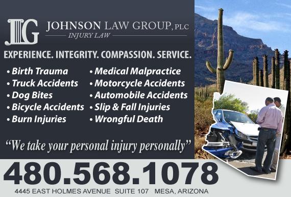 Exclusive Ad: Injury Law Mesa 4805934686 Logo