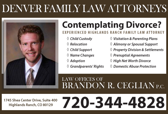 Exclusive Ad: Law Offices of Brandon R. Ceglian, P.C. Highlands Ranch 7203444828 Logo