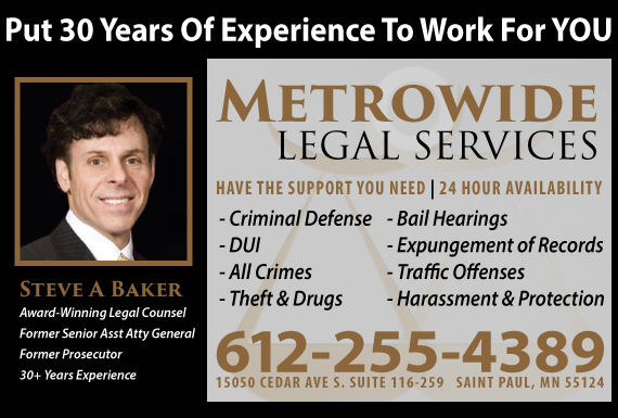 Exclusive Ad: Crim and DUI Saint Paul 9526417676 Logo