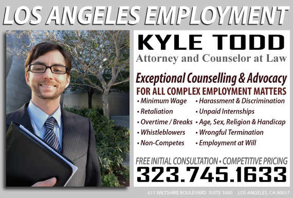 Exclusive Ad: Law Offices of Kyle Todd Los Angeles 3232089171 Logo