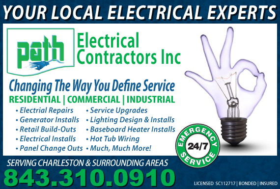 Exclusive Ad: Path Electrical Contractors Inc.  North Planfield 8433100910 Logo